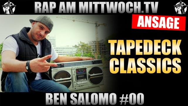 Ben-Salomo-kündigt-Tape-Classics-an