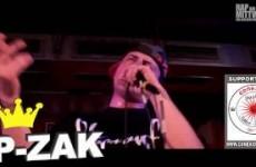 Artistfeature #01 P-Zak live