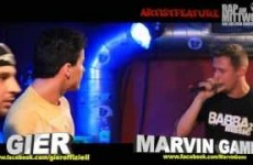Artistfeature #05 Marvin Game feat. Gier - Honig live