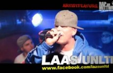 Artistfeature #06 Laas Unltd. - Backpack Inferno - Respect live