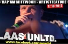 Artistfeature #13 Laas Unltd. - Spit Skit live