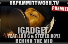iGadget feat. Edo G & Stereo Boyz - Behind The Mic