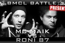 BMCL MC Maik vs Roni 87 (07.01.2015)