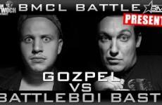 BMCL Gozpel vs Battleboi Basti
