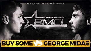 BMCL Buy Some vs George Midas 20.01.2016