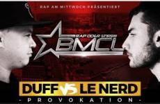 BMCL Provokation Duff vs Le Nerd