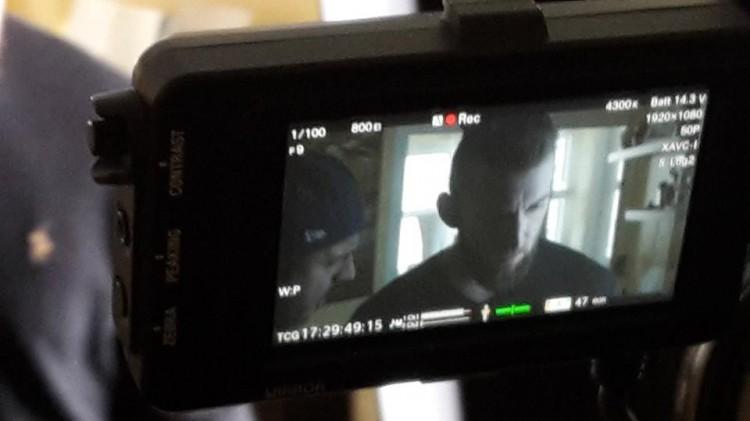 Ben Salomo beim Videodreh