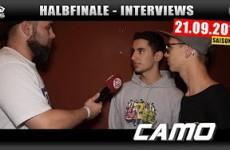 Interview zum Halbfinale 21.09.2016