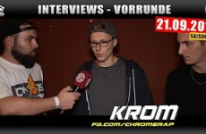 Interview zur Vorrunde 21.09.2016