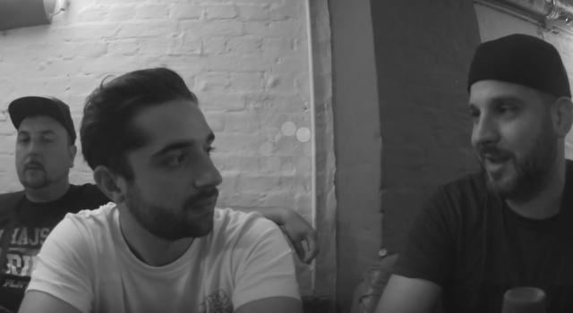 DJ Pete und Ben Salomo bei Backspin TV