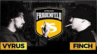 BMCL VYRUS VS FINCH (Frauenfeld)